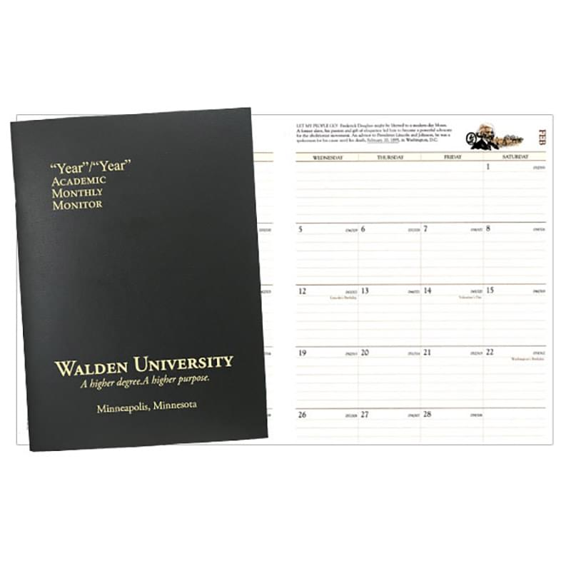 Academic Monitor Monthly Planner