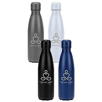 17 Oz. Laser Cyprus Stainless Bottle