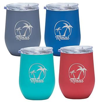 HOT DEAL - 12 Oz. Maui Stainless Tumbler (Laser)