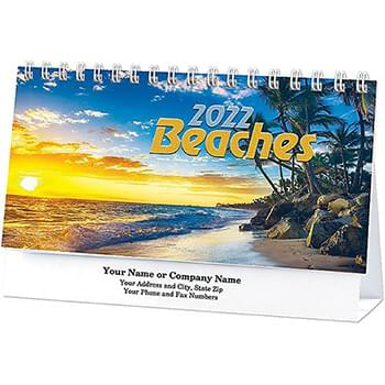 Beaches Standard Desk Calendar
