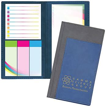 Duo Inset Padfolio w/Post-it® Notes