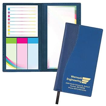 Duo Surge Padfolio w/Post-it® Notes