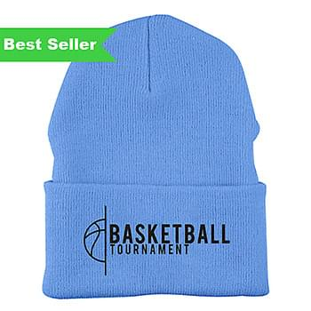 Heavyweight Embroidered Cuffed Knit Cap